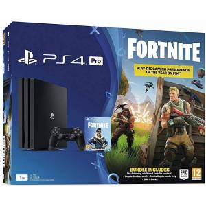 Sony PlayStation 4 Pro 1TB with Fortnite Royal Bomber Pack (PS4)