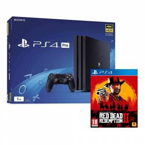 PlayStation 4 Pro 1TB with Red Dead Redemption 2 (PS4)