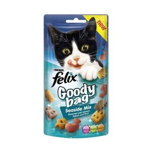 Felix  Treats Goody Bag Seaside Mix 60g