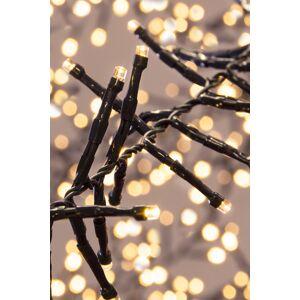 Christmas Tree World 2000 Multi function LED Cluster Lights - Warm White