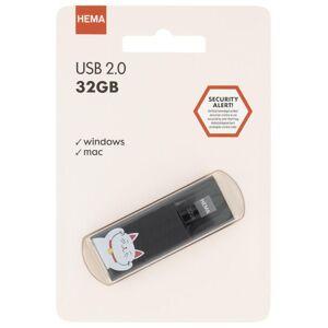 HEMA USB-stick 32GB - Lucky Cat