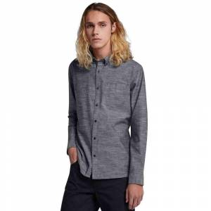 Hurley One & Only L/S Shirt in Black  - Size: Small