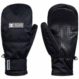 DC Franchise Snowboard / Ski Mitten - Black  - Size: Medium