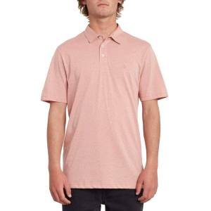 Volcom Wowzer Polo Shirt Sandstone - Sandstone - Size: Small