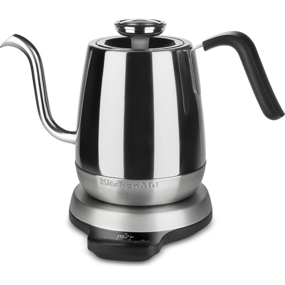 KitchenAid 5KEK1032BSS Goose Neck Kettle With Digital Precision - Stainless Steel