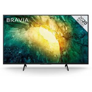 """Sony KD49X7053BU 49"""" LED HDR 4K Ultra HD Smart TV with Freeview Play-Black"""