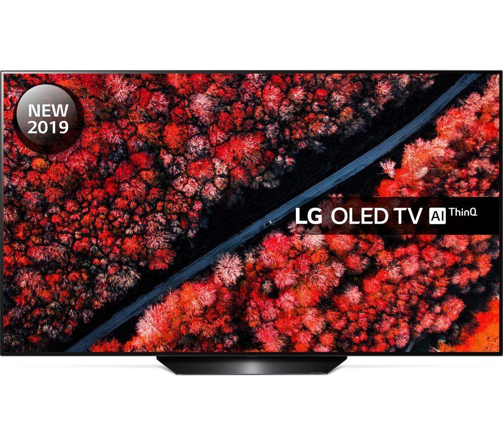 "LG OLED55B9PLA 55"" Smart 4K Ultra HD HDR OLED TV with Google Assistant"