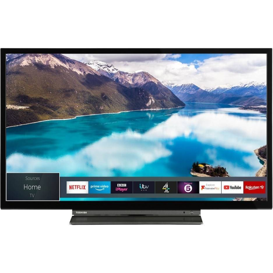 """Toshiba 24WL3A63DB 24"""" HD Ready Smart LED TV with Freeview Play"""