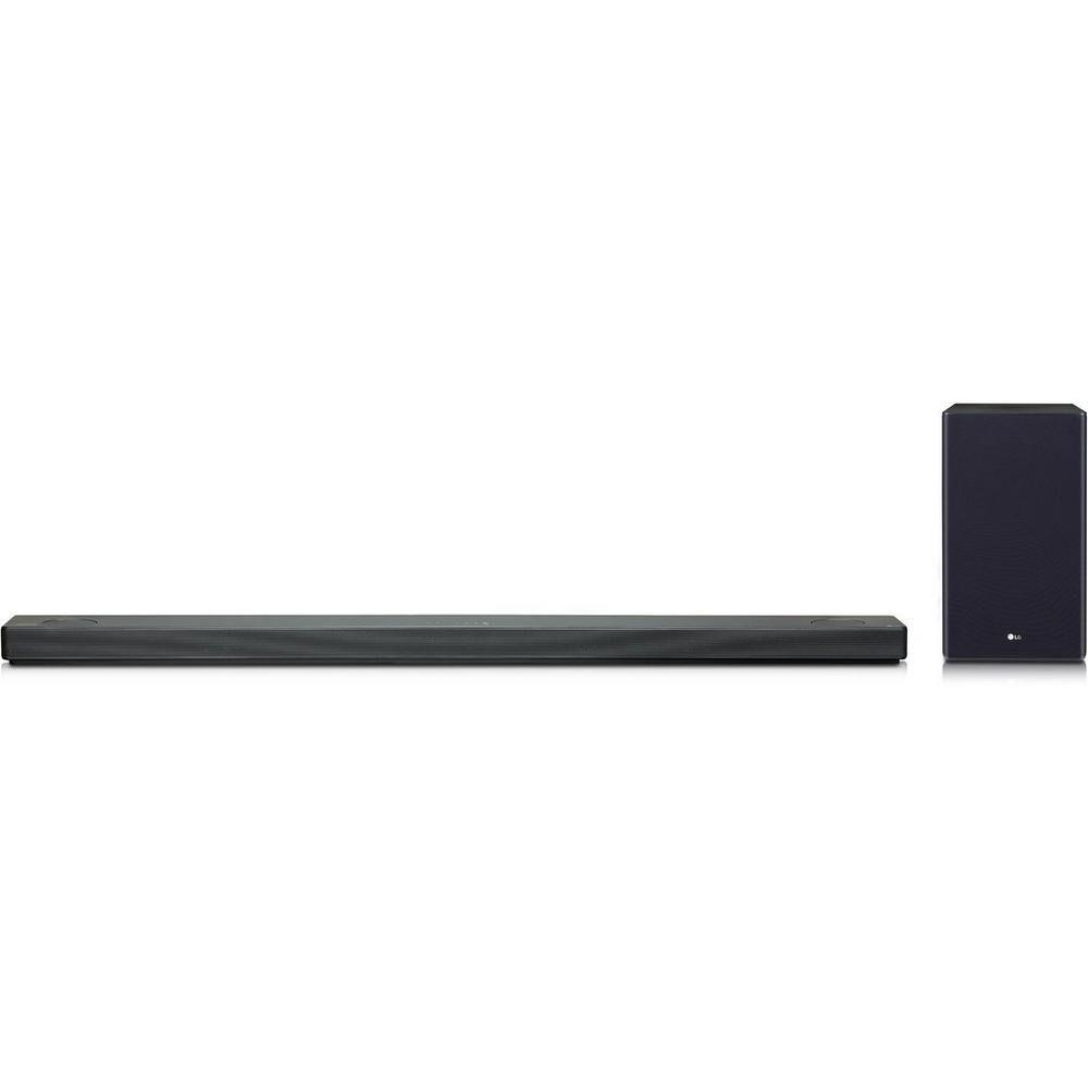 LG SL10YGDGBRLLK Flat Soundbar + Subwoofer 5.1.2 Ch - Dark Titan Silver