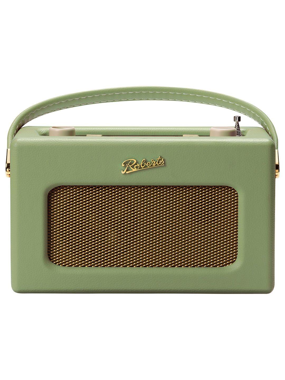 Roberts RD70LG Classic DAB Radio Leaf Green