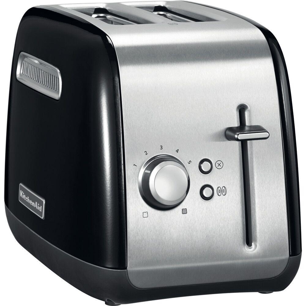 KitchenAid 5KMT2115BOB Classic Toaster 2 Slice - Onyx Black