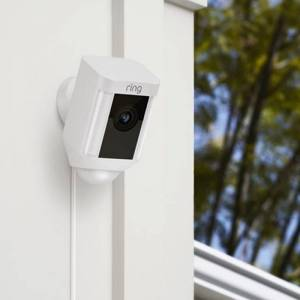 Ring 64-8SH2P7-WEU0 Ring Spotlight Hardwired Cam-White
