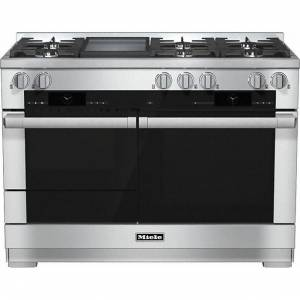 Miele HR 1956G-1 120cm Dual Fuel Range Cooker Stainless Steel