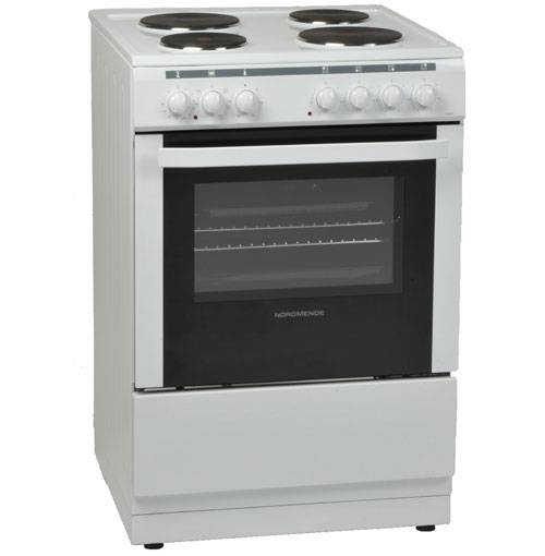 Nordmende CSE63WH 60cm Freestanding Electric Cooker-White
