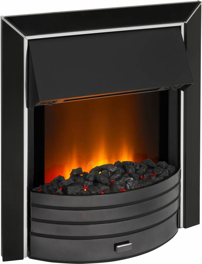 Dimplex FPT20BN Freeport Black Nickel Optiflame Electric Inset Fire