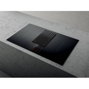Elica NIKOLIBRADUCTBL Nikolatesla Libra Induction Hob with Integrated Scale-Black-Duct Out