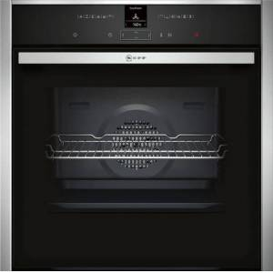 Neff B17CR32N1B Built-in Oven with CircoTherm-Stainless Steel