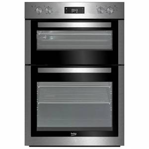 Beko BDF26300X Built In Electric Double Oven in Stainless Steel