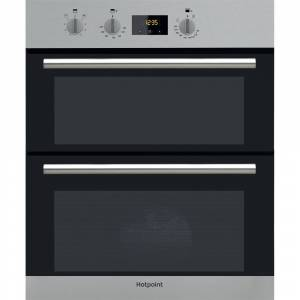 Hotpoint DU2540IX Double Built Under Oven - Stainless Steel