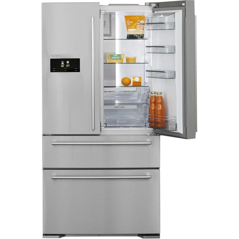 Nordmende RFA90IX 90cm French Door American Fridge Freezer-Stainless Steel