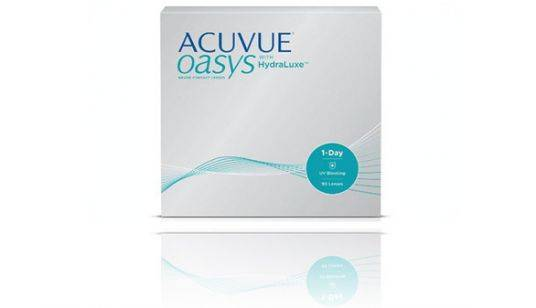 Acuvue Oasys hydraluxe 1-DAY 90 pack