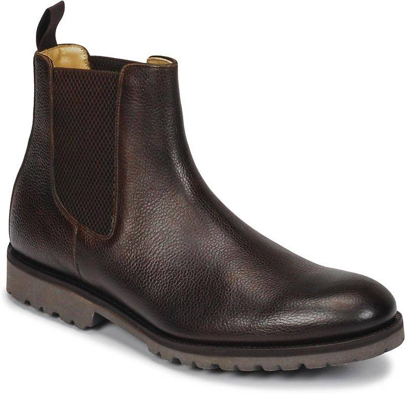 Barker Mayficel Mid Boots - Brown - Barker Boots
