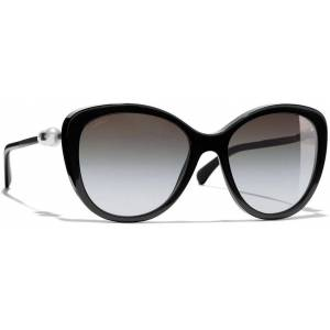 Chanel Butterfly Sunglasses Ch5338h - Black - Chanel Sunglasses