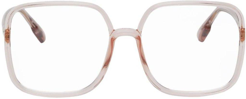 Christian Dior Pink Sostellaire01 Glasses - Pink - Dior Sunglasses