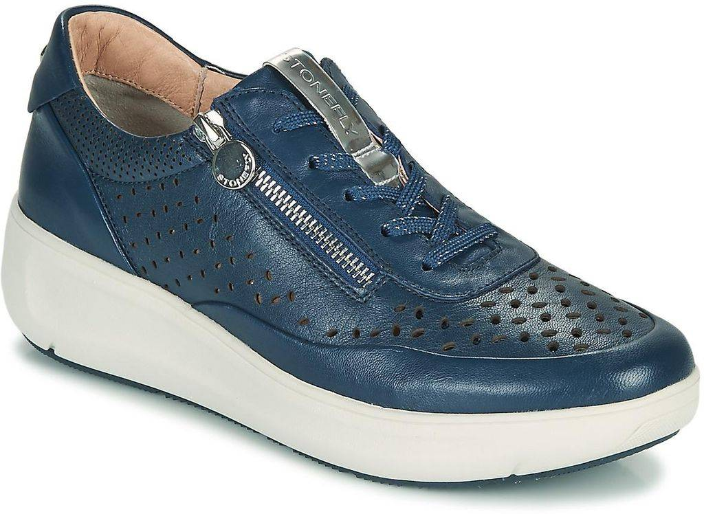 Stonefly Rock 10 Shoes (trainers) - Blue - Stonefly Sneakers