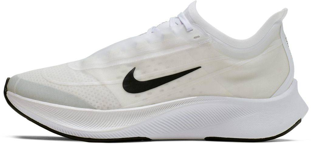 Nike Zoom Fly 3 Running Shoe - White - Nike Sneakers