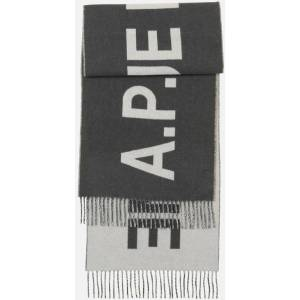 A.P.C. Angele Scarf - Gray - A.P.C. Scarves