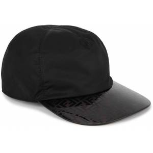 Fendi Ff Black Nylon Cap - Black - Fendi Hats