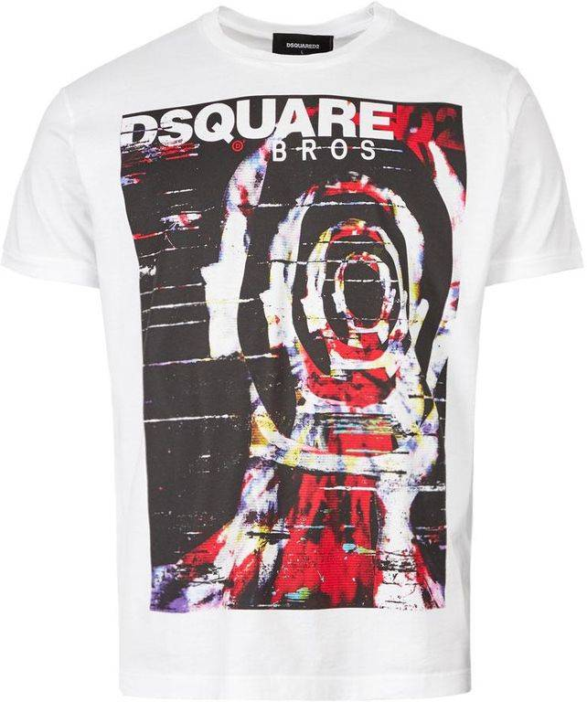DSquared² T-shirt For Men On Sale - White - DSquared² T-Shirts