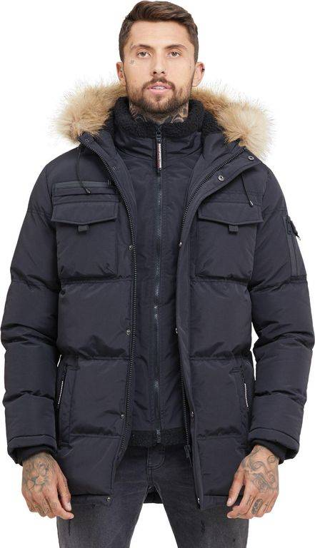 Good For Nothing Storm Black Double Layered Parka - Black - Good For Nothing Jackets