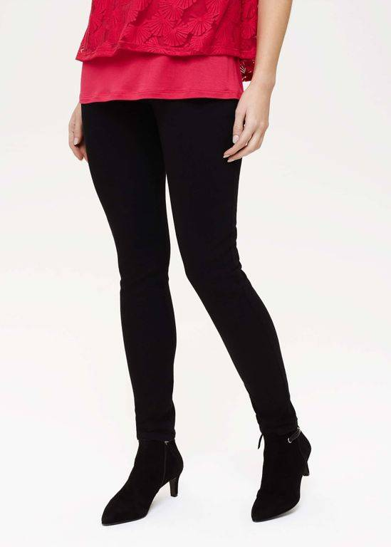Phase Eight Amina Skinny Fit Jeggings - Black - Phase Eight Pants