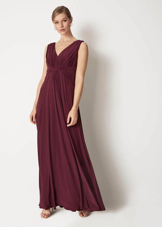 Phase Eight Arabella Full Length Dress - Purple - Phase Eight Dresses