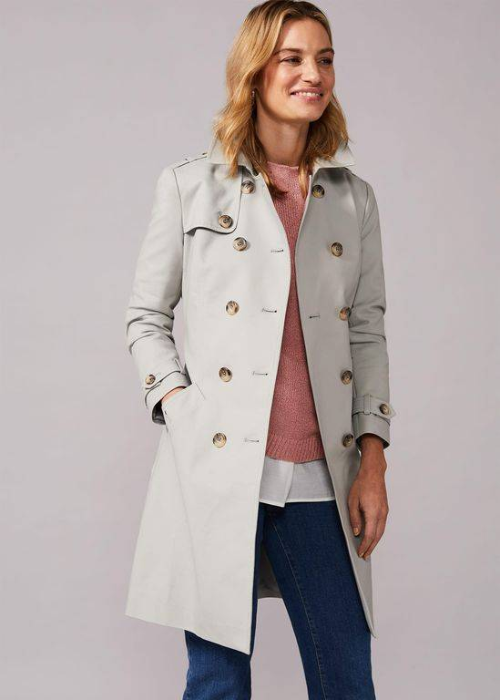 Phase Eight Tabatha Trench Coat - Natural - Phase Eight Coats