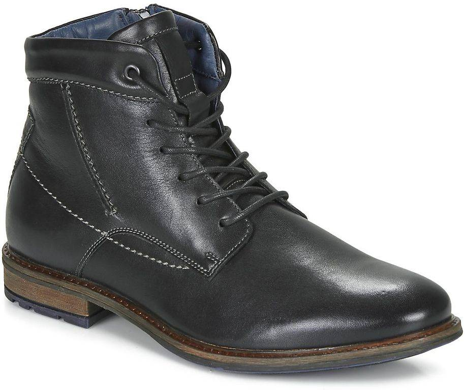 André Chiros Mid Boots - Black - André Boots
