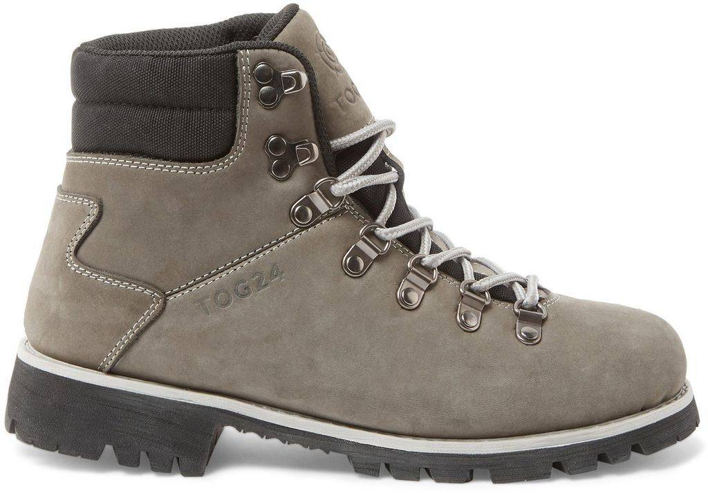 Tog 24 Grey And Light Grey Ingleborough Vibram Waterproof Boots - Gray - Tog 24 Boots