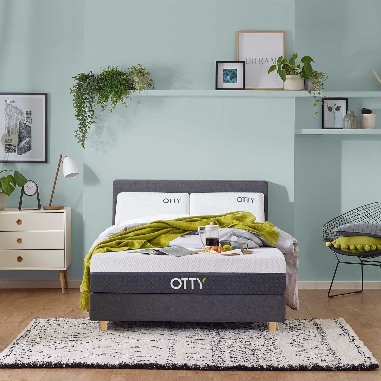OTTY Sleep OTTY Flex Memory Foam Mattress, Double   Out of stock      (W135 L190 H25 cm)