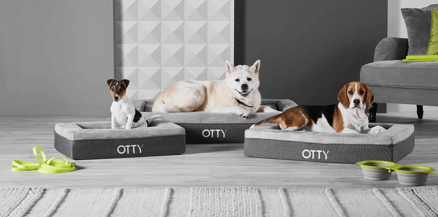 OTTY Pet Bed, Large (114x89x14cm)
