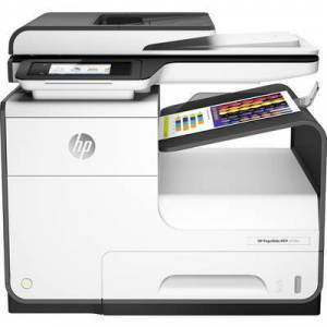 HP PageWide 377dw Colour inkjet multifunction printer A4 Printer, scanner, copier, fax LAN, Wi-Fi, NFC, Duplex, Duplex ADF