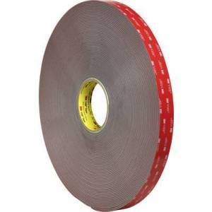 3M 49912516 7000072533 Double sided adhesive tape Grey (L x W) 5.5 m x 19 mm 5.5 m