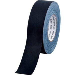 3M 9545NB50 Cloth tape Scotch® Black (L x W) 50 m x 50 mm 50 m