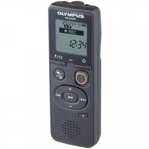 Olympus VN-541PC Digital dictaphone Max. recording time 2080 h Black Noise cancelling
