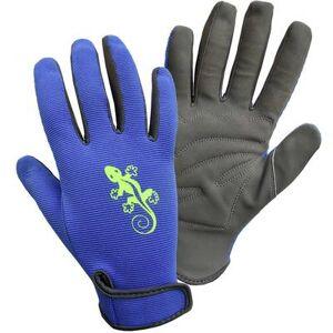 FerdyF. Faux leather Garden glove Size (gloves): Mens sizes FerdyF. Garden-Gecko 1433-H 1 Pair