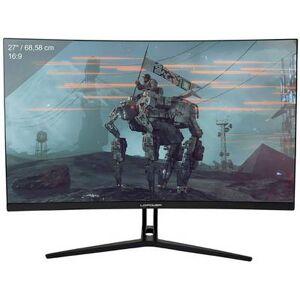 LC Power LC-M27-FHD-144-C Gaming screen 68.6 cm (27 inch) EEC B (A++ - E) 1920 x 1080 p Full HD 4 ms HDMI™, DisplayPort VA LCD