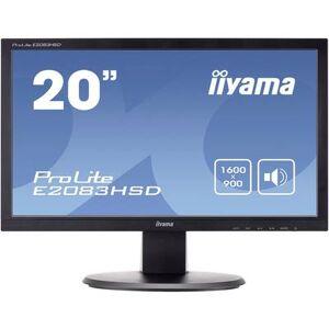 Iiyama E2083HSD LED 49.5 cm (19.5 inch) 1600 x 900 p WSXGA 5 ms DVI, VGA, Headphone jack (3.5 mm) TN LED