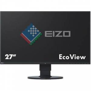 EIZO EV2750-BK LED 68.6 cm (27 inch) EEC A (A+ - F) 2560 x 1440 p WQHD 5 ms DisplayPort, HDMI™, DVI IPS LED