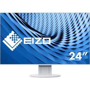 EIZO EV2451-WT blanc LCD 60.5 cm (23.8 inch) EEC A++ (A++ - E) 1920 x 1080 p Full HD 5 ms DisplayPort, DVI, HDMI™, VGA, Audio stereo (3.5 mm jack), USB 3.0